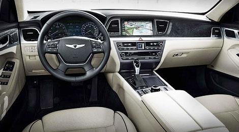 Компания Hyundai официально представила Genesis нового поколения. Фото 2