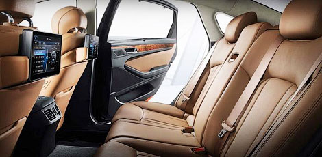 Компания Hyundai официально представила Genesis нового поколения. Фото 3