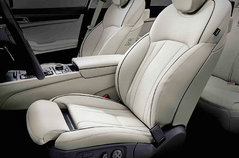 Компания Hyundai официально представила Genesis нового поколения. Фото 5