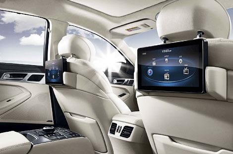 Компания Hyundai официально представила Genesis нового поколения. Фото 6