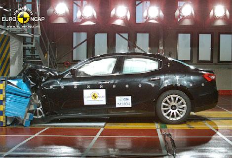 Почти половина испытанных автомобилей получили четыре звезды за краш-тест