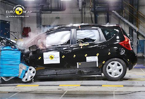 Почти половина испытанных автомобилей получили четыре звезды за краш-тест. Фото 4