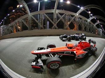 Команда Формулы-1 Williams отказалась от слияния с Marussia