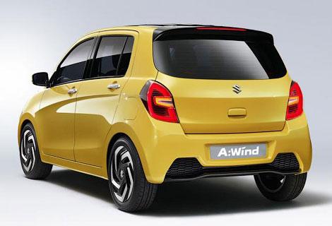 В Таиланде дебютирует компактный концепт-кар Suzuki A:Wind