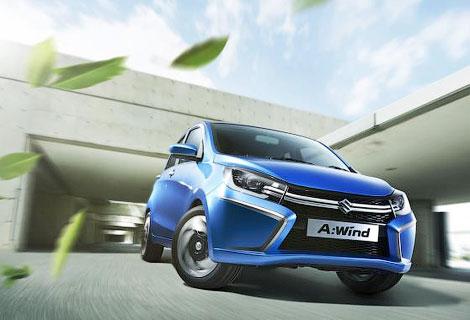 В Таиланде дебютирует компактный концепт-кар Suzuki A:Wind. Фото 1