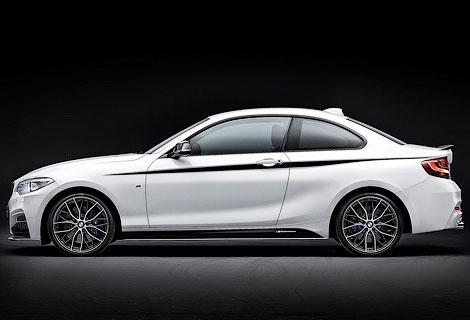 Компания BMW представила линейку аксессуаров M Performance для купе 2-Series