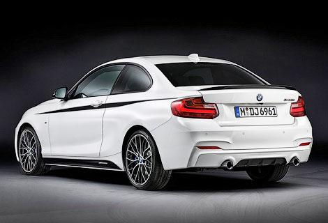 Компания BMW представила линейку аксессуаров M Performance для купе 2-Series. Фото 1
