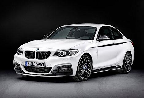 Компания BMW представила линейку аксессуаров M Performance для купе 2-Series. Фото 3