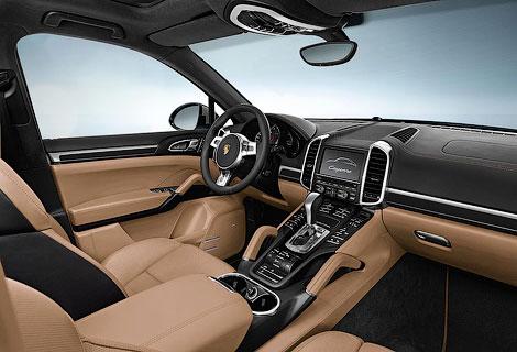Porsche Cayenne получил спецверсию Platinim Edition. Фото 2