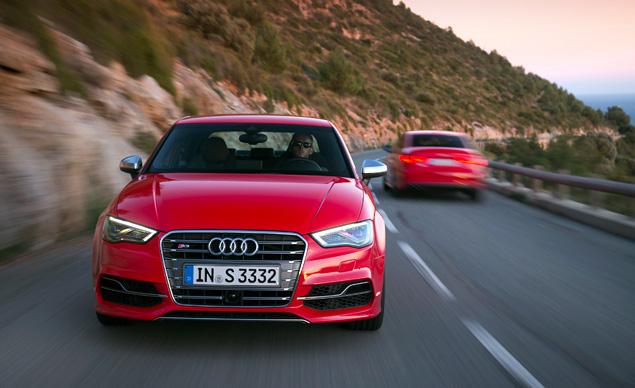 Два способа пустить пыль в глаза за рулем Audi A3. Фото 11