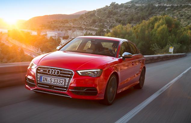 Два способа пустить пыль в глаза за рулем Audi A3. Фото 13
