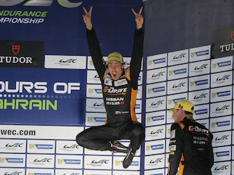 Роман Русинов занял третье место в чемпионате WEC
