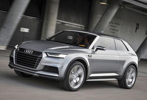 Производство вседорожника Audi Q1 начнется в 2016 году