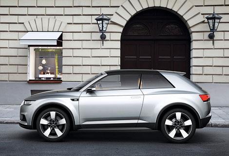 Производство вседорожника Audi Q1 начнется в 2016 году. Фото 1