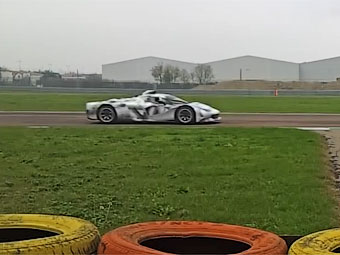 Ferrari начала тесты турбомотора для Формулы-1 на купе LaFerrari