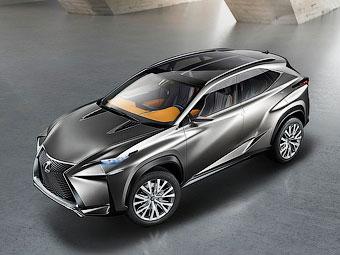 Lexus подготовит к весне серийный компактный кроссовер