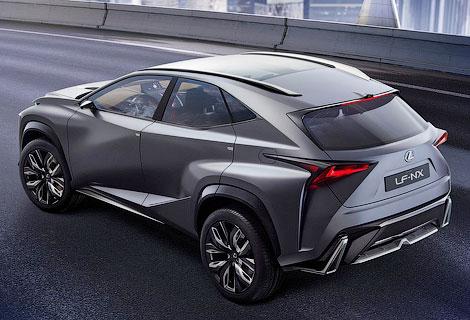 Товарный вариант вседорожника LF-NX покажут на моторшу в Женеве