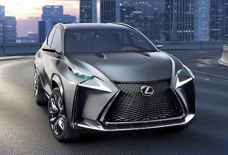 Появилось первое изображение новой модели Lexus