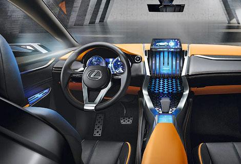 Товарный вариант вседорожника LF-NX покажут на моторшу в Женеве. Фото 2