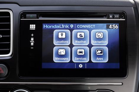 Компания Honda обновила мультимедийный комплекс своих машин