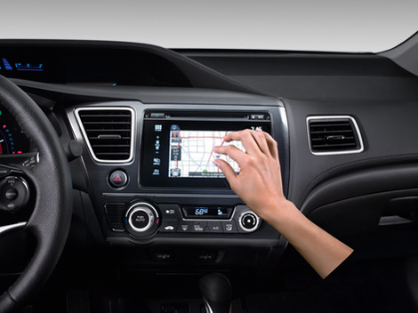 Компания Honda обновила мультимедийный комплекс своих машин. Фото 1