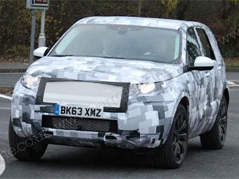 Шпионы сфотографировали преемника Land Rover Freelander