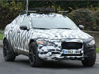 Jaguar вывел на испытания свой первый кроссовер