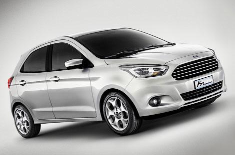 Бразильский Ford разработал субкомпактный хэтчбек для мировых рынков. Фото 1