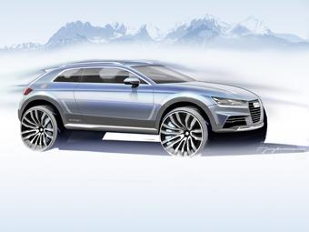 Audi привезет в Детройт концептуальный кроссовер