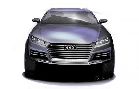 Прототип даст представление о внешнем виде будущих серийных моделей Audi