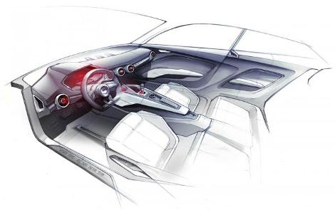 Прототип даст представление о внешнем виде будущих серийных моделей Audi. Фото 1