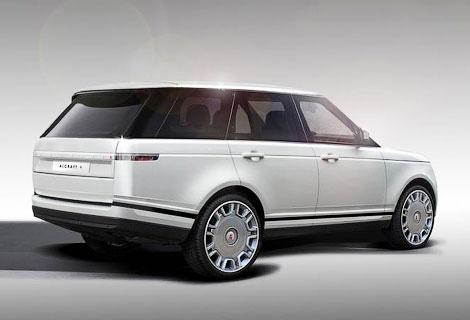 Фирма Alcraft разработает стайлинг-пакеты для Range Rover, Jaguar и Aston Martin