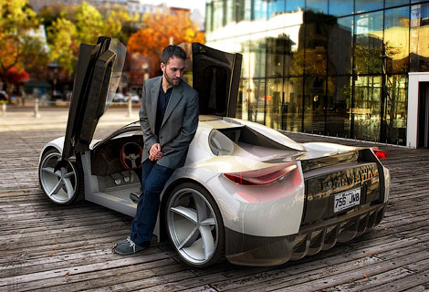 Фирма Dubuc решила сделать «двоюродного брата Tesla». Фото 3