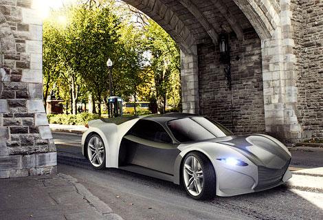 Компания SLC покажет сверхлегкое купе на моторшоу в Монреале. Фото 1