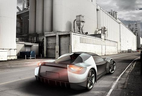 Компания SLC покажет сверхлегкое купе на моторшоу в Монреале. Фото 2