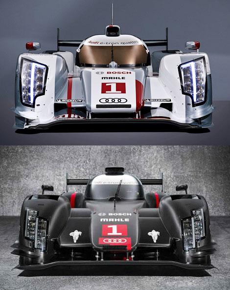 Компания Audi показала новый гоночный автомобиль для чемпионата WEC
