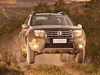 Renault Duster вошел в тройку российских бестселлеров