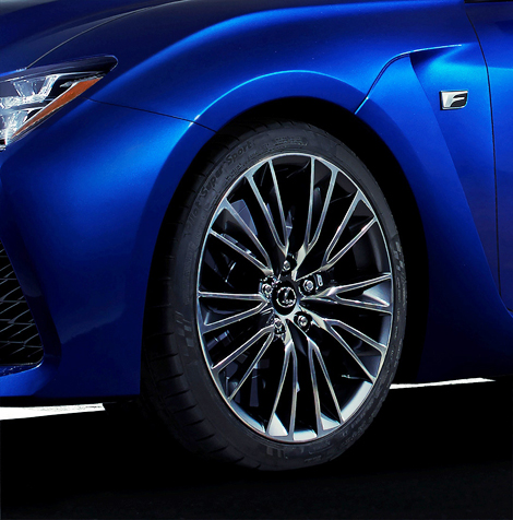 Компания Lexus распространила первый тизер новой F-модели