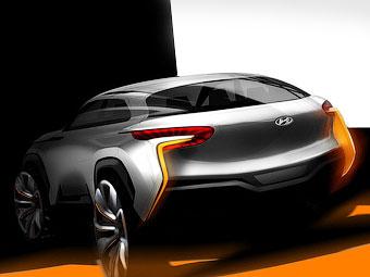 Hyundai покажет дизайн новых моделей на концепт-кроссовере