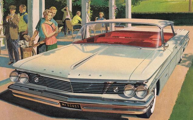 Автомобильная реклама середины XX века в работах Артура Фитцпатрика