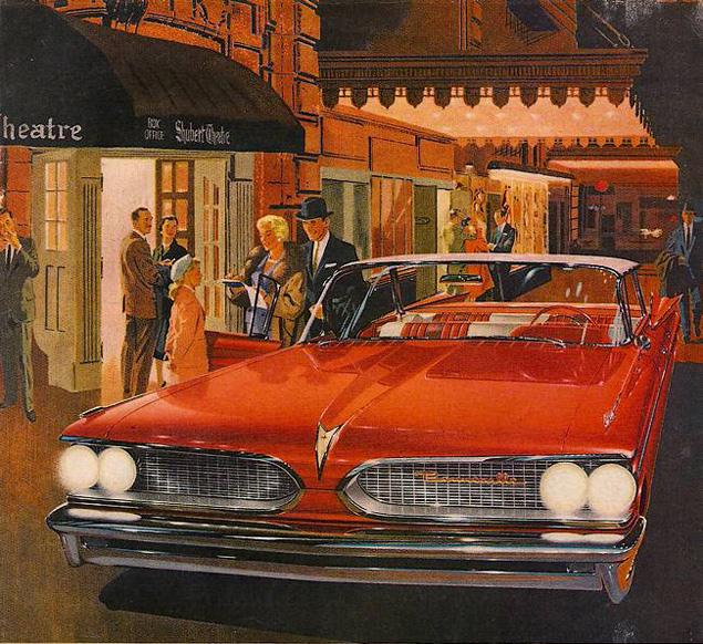 Автомобильная реклама середины XX века в работах Артура Фитцпатрика. Фото 4