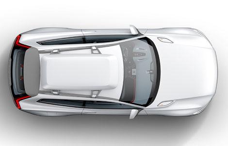 """""""Вольво"""" распространила тизеры нового концептуального автомобиля. Фото 1"""