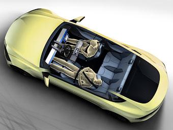 Швейцарцы создали интерьер беспилотного автомобиля