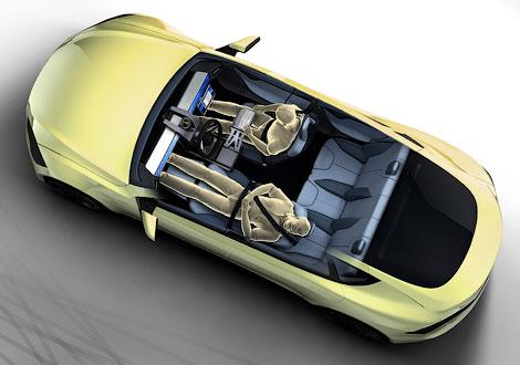Ателье Rinspeed покажет в Женеве концепт-кар XchangE. Фото 1