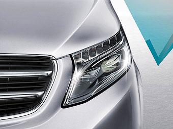 Новую модель Mercedes-Benz рассекретят в январе