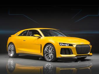 Серийная версия Audi Sport quattro получит шасси от A6