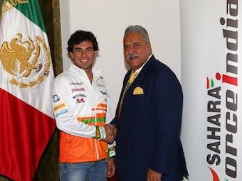 Force India подтвердила контракт с Серхио Пересом