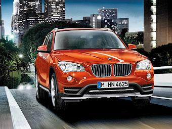 Компания BMW обновила кроссовер X1