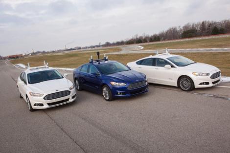 """В """"Форде"""" запустят в серию автомобили с автопилотом к 2025 году. Фото 3"""