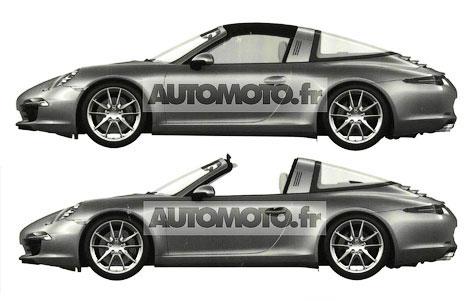 Новую модификацию спорткара 911 привезут на моторшоу в Детройте